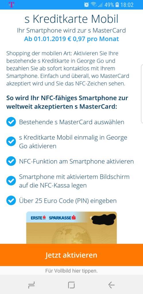 Nfc Karte Kopieren.Bankomatkarte Via Handy App Nfc Mst In At Lte Forum
