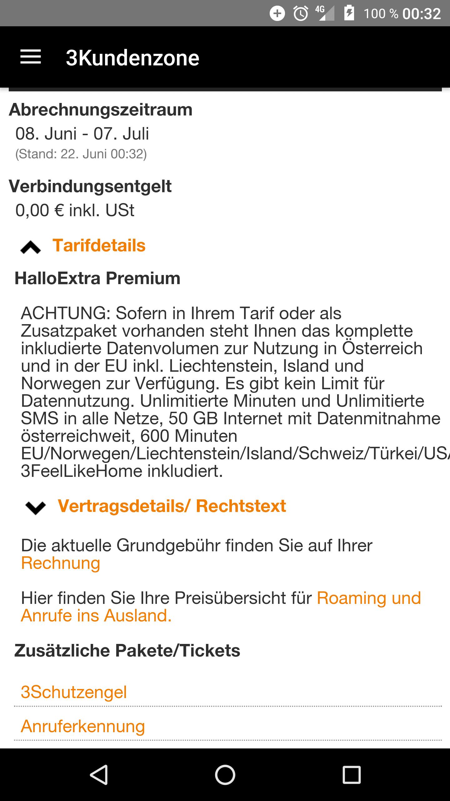 Eu Roaming Datenguthaben Lte Forum österreich