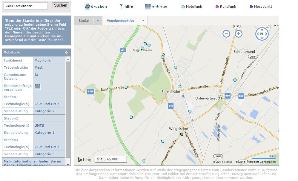 Lte Masten Karte.3 Lte 4g Verfugbarkeit In Osterreich Google Map Lte Forum