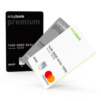 Debit Mastercard der Easybank
