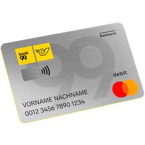 bank99 Debit Mastercard