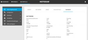 Netgear Web Diagnose