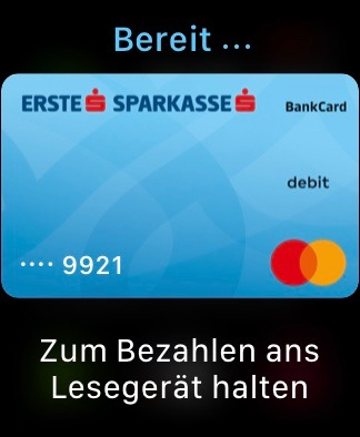 Apple Pay Debitcard Apple Watch