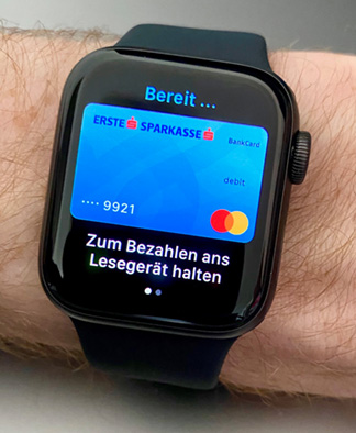 Apple Pay mit der Apple Watch