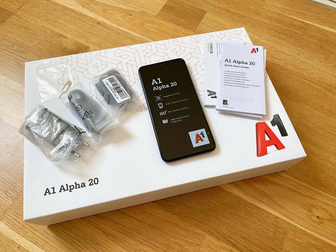 A1 Alpha 20