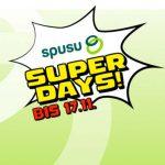 spusu SuperDays Aktionen (bis 17.11.2021)